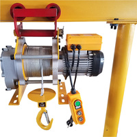 Factory Price Electric Cable Hoist Lifting Motor Construction Winch Roofs Machine To Lift Heavy Objects