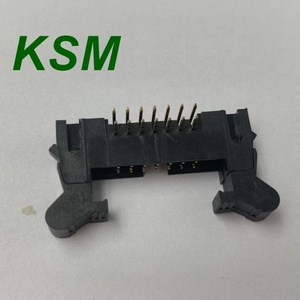 15pin gender charger 2.0mm right angle black board to board ejector header for pcb connector