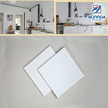 200x200 Pure White Tile Modern Design Sitting Room And Bathroom ...