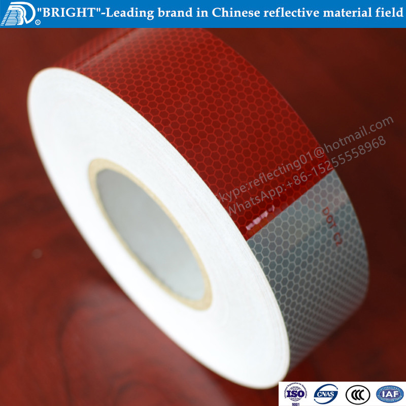 DOT-C2 approved honeycomb vinyl rear safety reflector tape