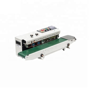 Aluminum body plastic bag sealing machine automatic continuous band sealer for packing
