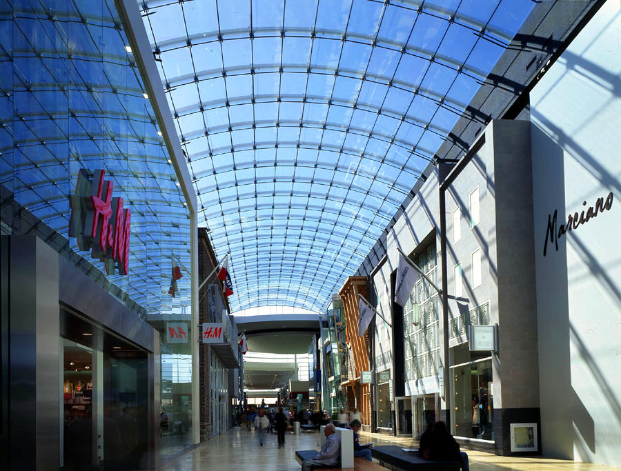 Long Span Steel Structure Glass Atrium Roof Buy Long