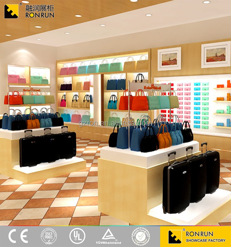 Bag shop interior design home design for Retail shop exterior design