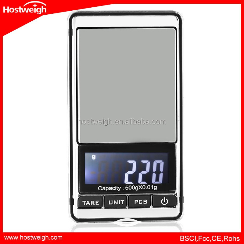 200g x 0.01g Mini Digital Scale Diamond Jewelry Weighing Tools LCD Electronic Pocket Scales Portable