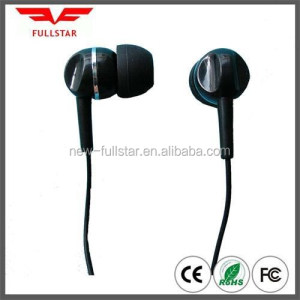 Cheap earphone/in-ear earphone computer accessory free sample provide