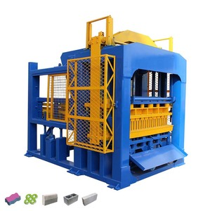 Stationery building bricks block construction making machines production line