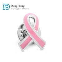 Enamel Lapel Pin Breast Cancer Awareness Pin Metal Brooch Pins