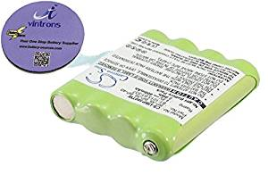 vintrons (TM) Bundle - 600mAh Replacement Battery For UNIDEN GMR1038, GMR15582CK, + vintrons Coaster