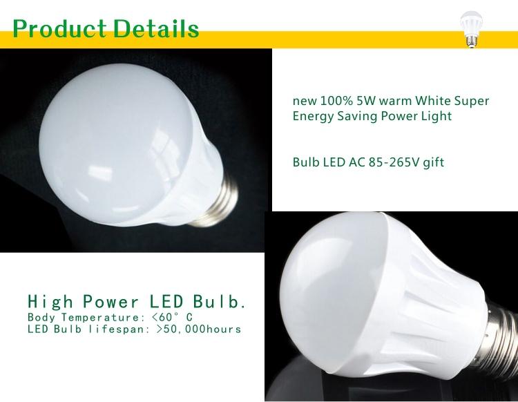 High Lumen 45 Pcs Smd 2835 Smd2835 E27 Plastic Bulb 9 Watt 12w ...