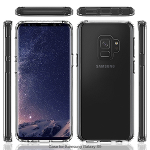 Hot Sale Soft TPU Phone Cover Transparent Case For Samsung S9
