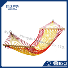 Cotton rope polyester rope camping hammock
