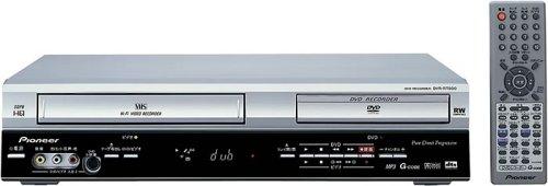 Pioneer DVR-RT500S VCR/DVD Recorder