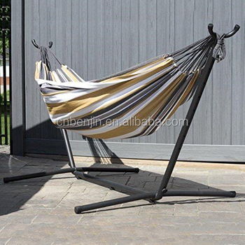 Deluxe Folding Camping Portable Hammock With Steel Stand Buy Steel