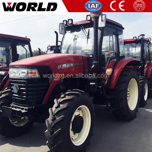 with ce certification four wheel farm tractor cab air conditioner 130hp
