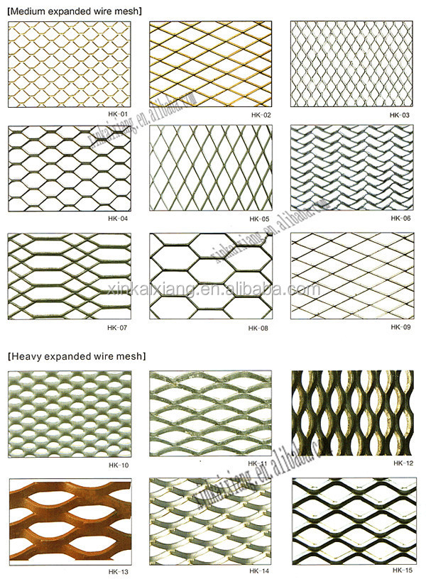 Stainless Steel Flat Expanded Metal Sheet Diamond Pattern