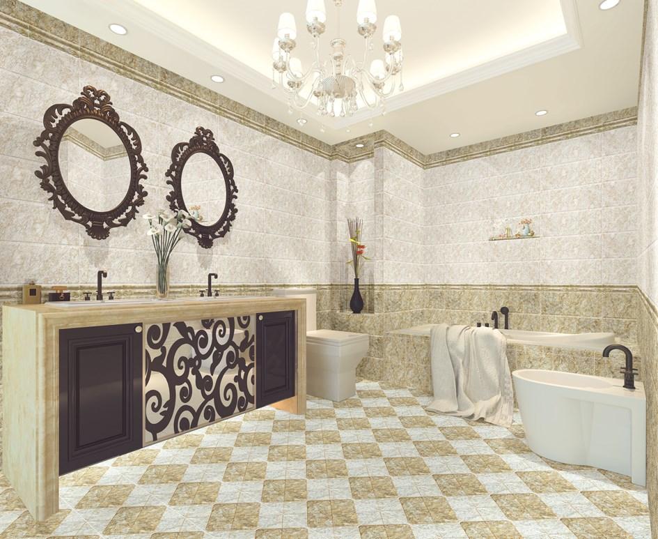 Bathroom Tiles Models wall cladding floor tile digital printing ceramic glaze bathroom