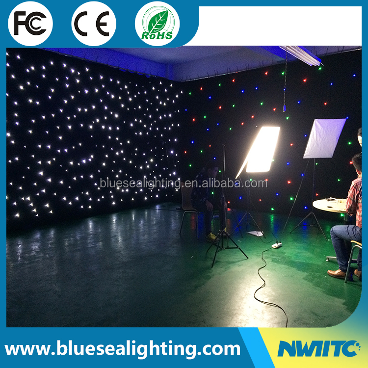 LED SMD5050 lamp star curtain led color changing curtain light