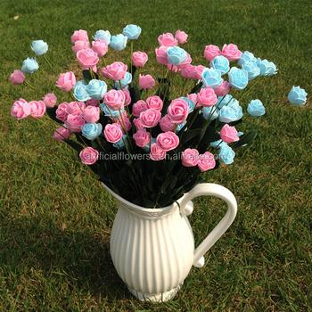 Thailand Beauty Products Christmas Decoration Long Stem Foam Flower
