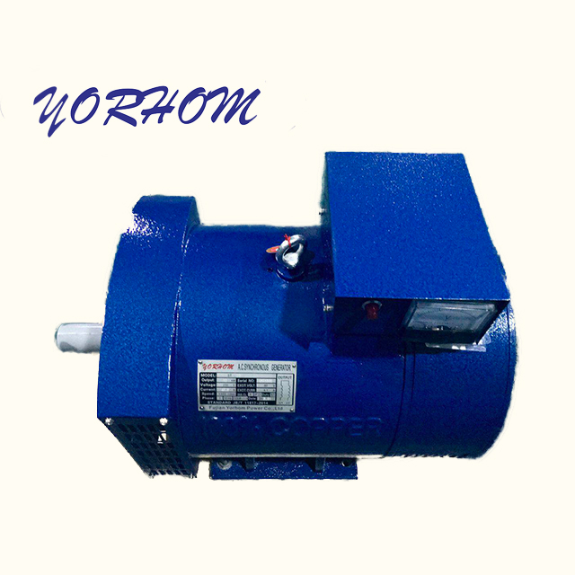 STC ST 5KW Three-Phase Carbon Brush Diesel Generator Synchronous AC Alternator with 100% copper
