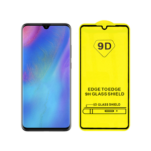 Wholesale Price 5D 9D Curved Glass Round Edge Tempered Glass For Huawei P30 Screen Protector