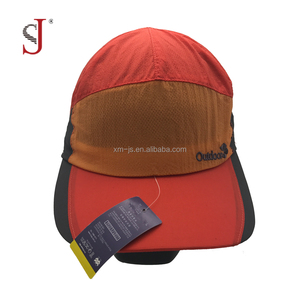 ab32ab7be Custom Embroidery 100% Nylon Hat 7 Panel Unstructured Waterproof Korea Mesh  Inside Outdoor cap Running Hat