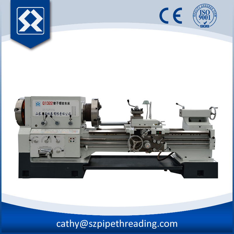Q1322*1500 Pipe Threading Manual Operation Lathe Machine ...