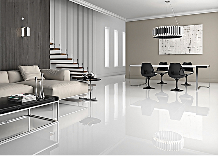 best price new model manufacture luxury flooring tile cheap double loading super white sparkle porcelain floor tiles