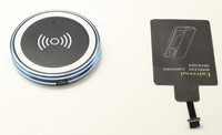 Newest WPC1.1 BMN806 New arrival wireless battery charger Mobile Phone qi wireless chargers/ wireless charging pad