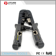 crimping tool with cable tester