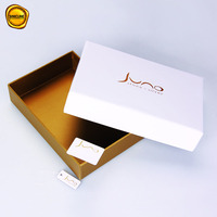 Sinicline 2019 new design hot sale custom swimwear logo printed gold gift box