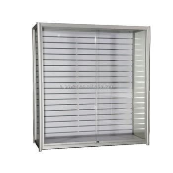 Lockable Sliding Glass Doors Display Aluminium Showcase Buy