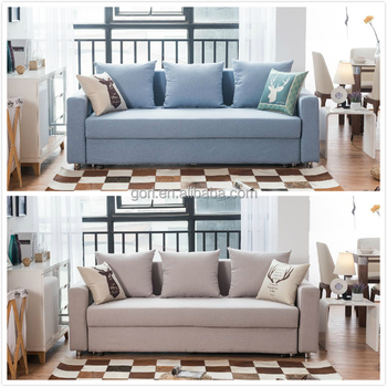 Gorl E Saving Furniture Sofa Set Pull Out Bed With Strong Storage Gl6028