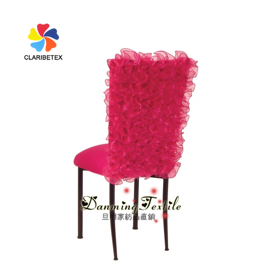 Factory Wholesale Wedding Chair Organza Cover, Organza Sash