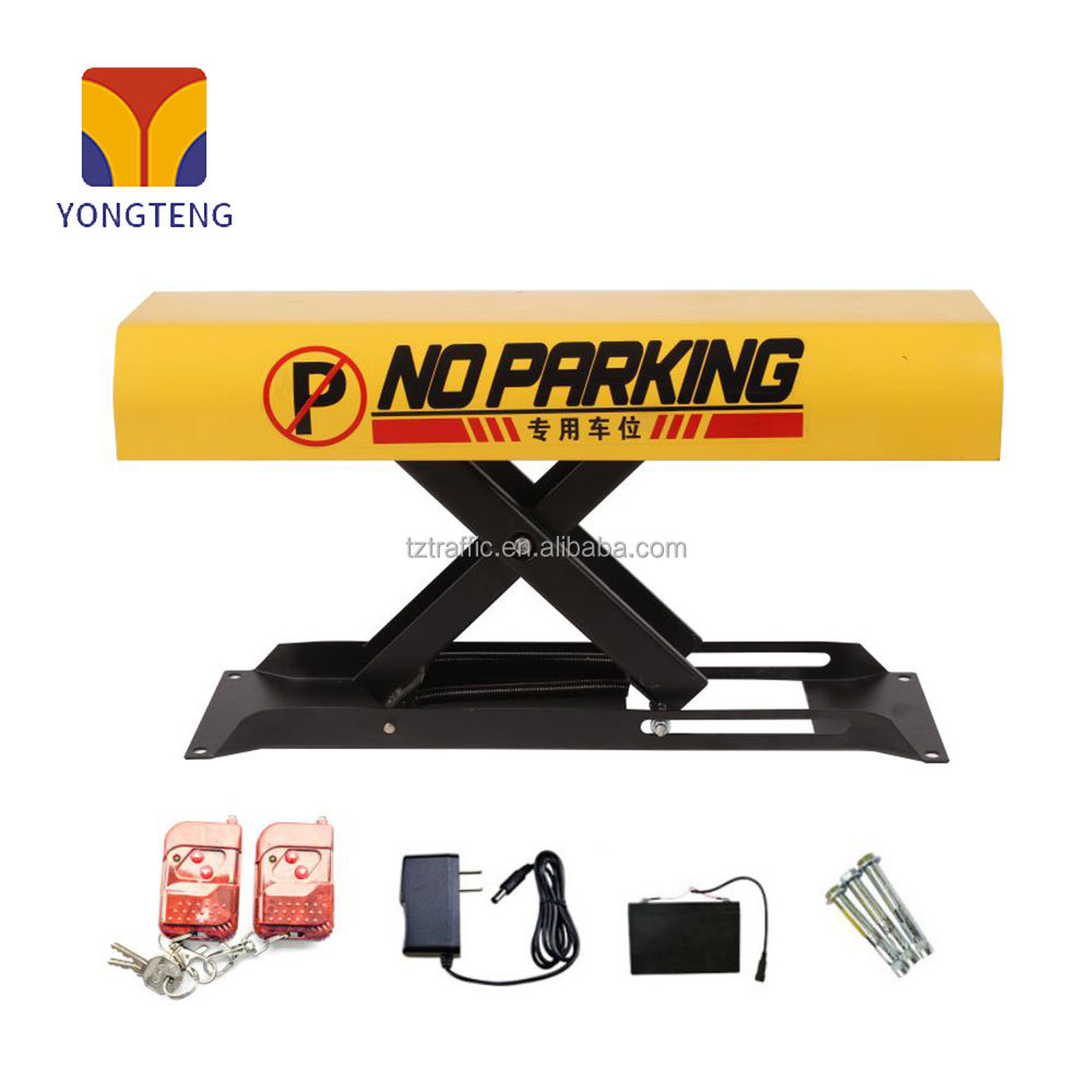 YT-A003 New type automatic remote car parking lock barrier smart parking system parking lot lock