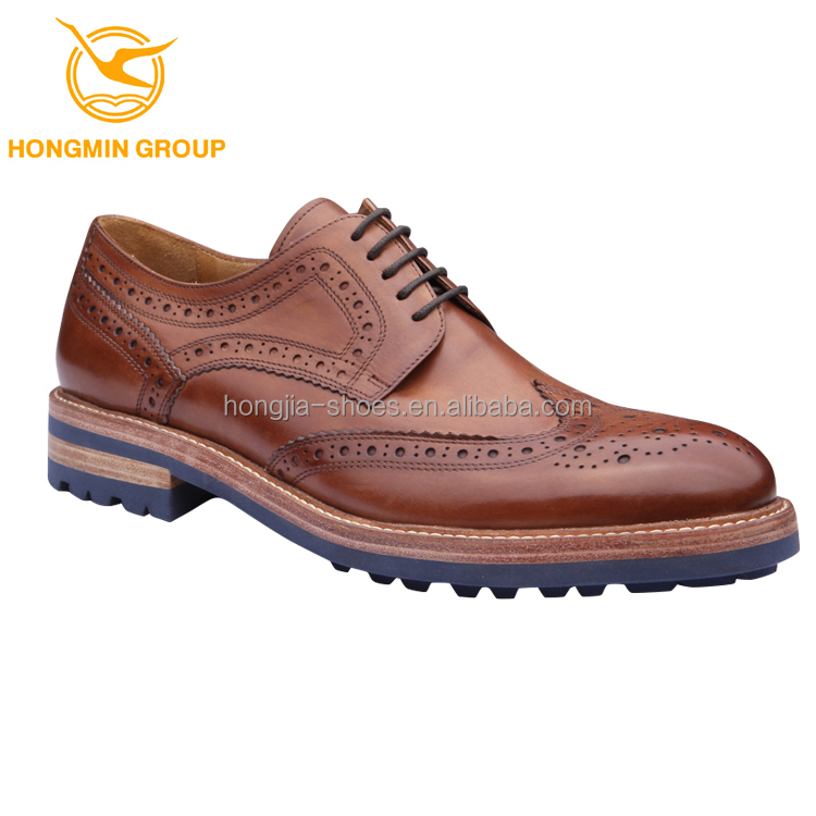 2017 new style dress shoes man comfort rubber outsole leather italian fashion men leather oxford shoes