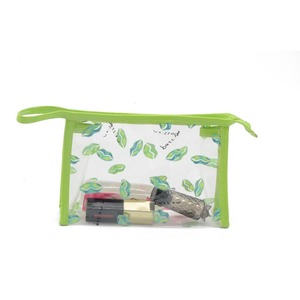 Design custom professional wholesale clear PVC cosmetic travel bag