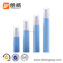 15ml Mini Airless Pump Bottle Hdpe Cosmetic Bottle Lotion Dispenser Bottle China Supply 5ml/10ml/12ml/15ml