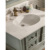 Qierao QIJC1701B American Rustic Turquoise Wood Cabinets Home Goods Bath Vanity Bathroom Vanity Furniture