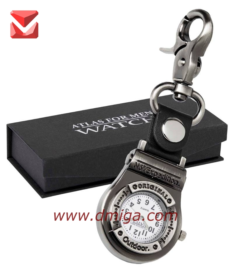 Promotion Gift Fashion hook golf pocket Watches for business gift