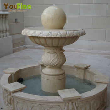 Garden Marble Floating Rolling Ball Water Fountain