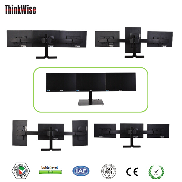 triple monitor desk stand mounting brackets lcd mount 3 monitor screens buy triple monitor desk lcd monitor lcd monitor stand