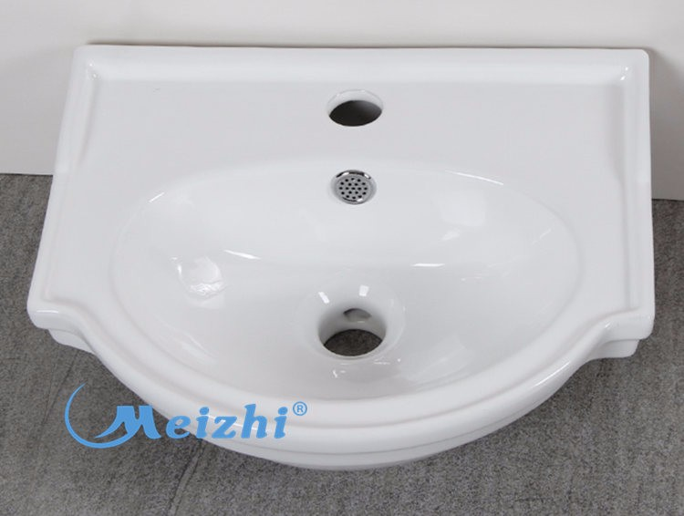 Irregular shape sinks wash basin with stand