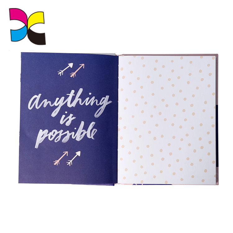 China wholesale journal Diary custom cover hard printing customized personalized hardcover notebook