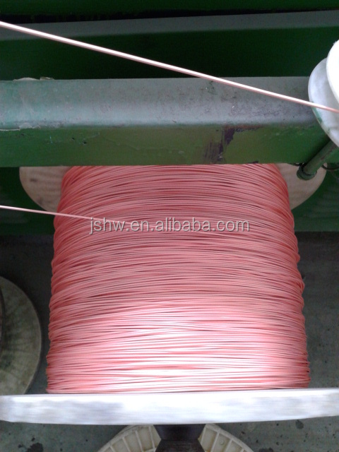 Lan cable raw material copper covered steel wire CCS wire Lan cable raw material