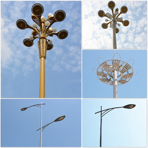 Manufacturer The Power Street Light Lines Cement Electric Poles