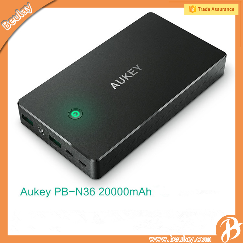 High Capacity AUKEY PB-N36 20000mAh Power Bank With QC 2.0
