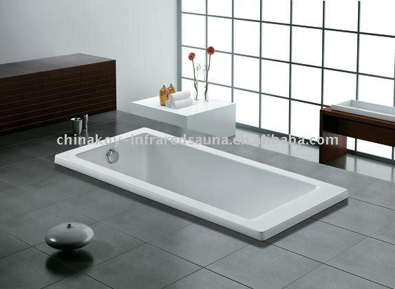 quadrato acrilico k 1014 della vasca da bagno di prezzi semplici e bassi