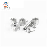 CNC machining steel parts with zinc plating machinery parts cnc machining service