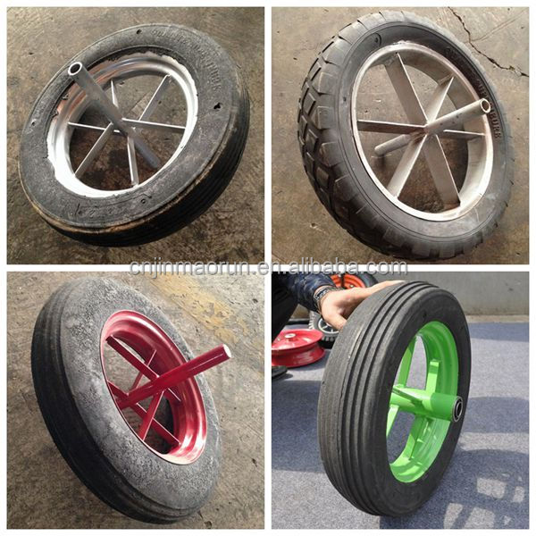 Plastic Wheelbarrow Wheel,Solid Wheelbarrow Wheel