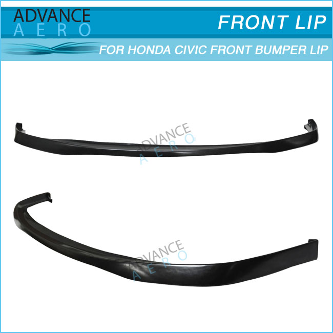 FOR 92-95 HONDA CIVIC EG 2/3DR SIR STYLE PU FRONT BUMPER LIP SPOILER BODY KITS